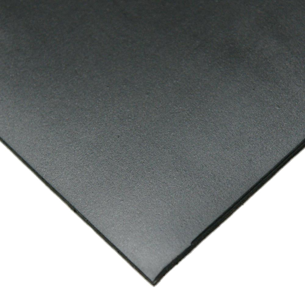 Neoprene 1/16 in. x 36 in. x 168 in. Commercial Grade 45A Soft Rubber Sheet Rolls