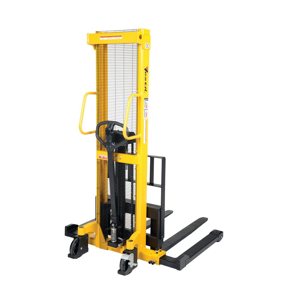 2,000 lb. Capacity Manual Hydraulic Hand Pump Stacker