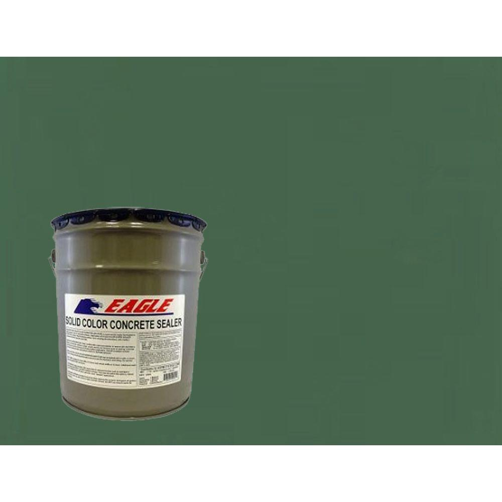5 gal. Patio Green Solid Color Solvent Based Concrete Sealer