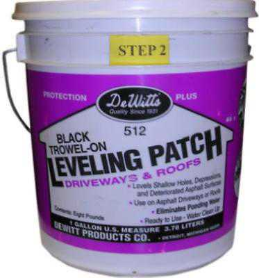 Dewitt 9 Trowel On Leveling Patch A Heavily Fortified Mixture Of Rubber Li